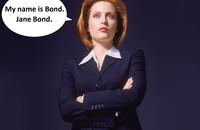 Gillian Anderson jako James Bond w fanowskim zwiastunie