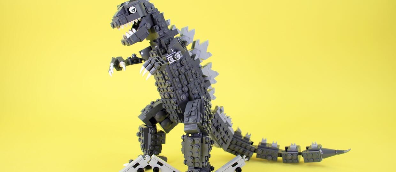 Lego Zestaw Godzilla Antyradiopl