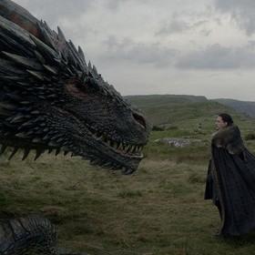 Jon Snow i Drogon