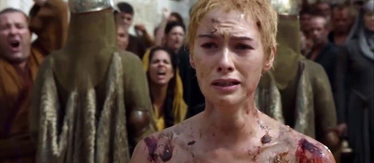 Cersei Walk of Shame