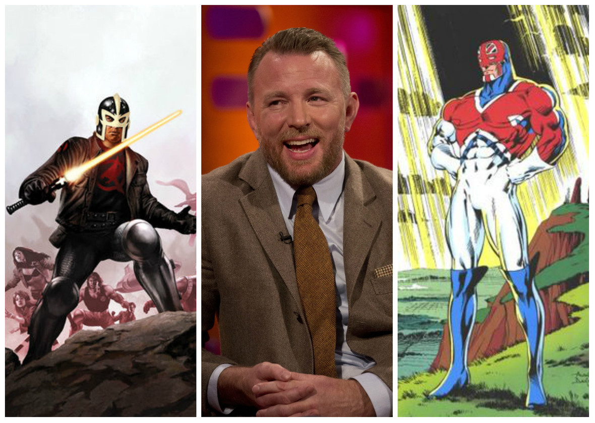 "Guy Ritchie wyreżyseruje film Marvel Studios ""Captain Britain and the Black Knight""?"