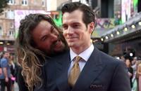 Henry Cavill przebrał się za Aquamana i strollował Jasona Momoę