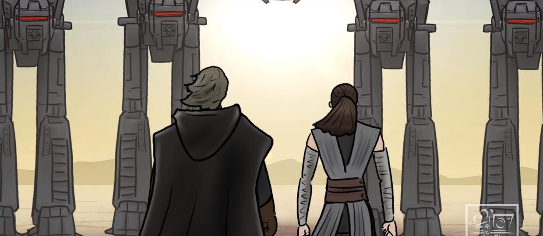 """Jak powinny się skończyć """"Gwiezdne wojny: Ostatni Jedi""""? Twórcy HISHE mają na to odpowiedź"""