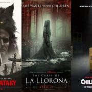 "Plakaty filmów ""Pet Sematary"", ""Curse od La llorna"" i ""Child's Play"", foto: Materiały promocyjne"