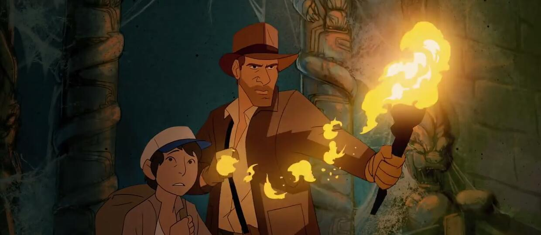 Indiana Jones w animowanej wersji