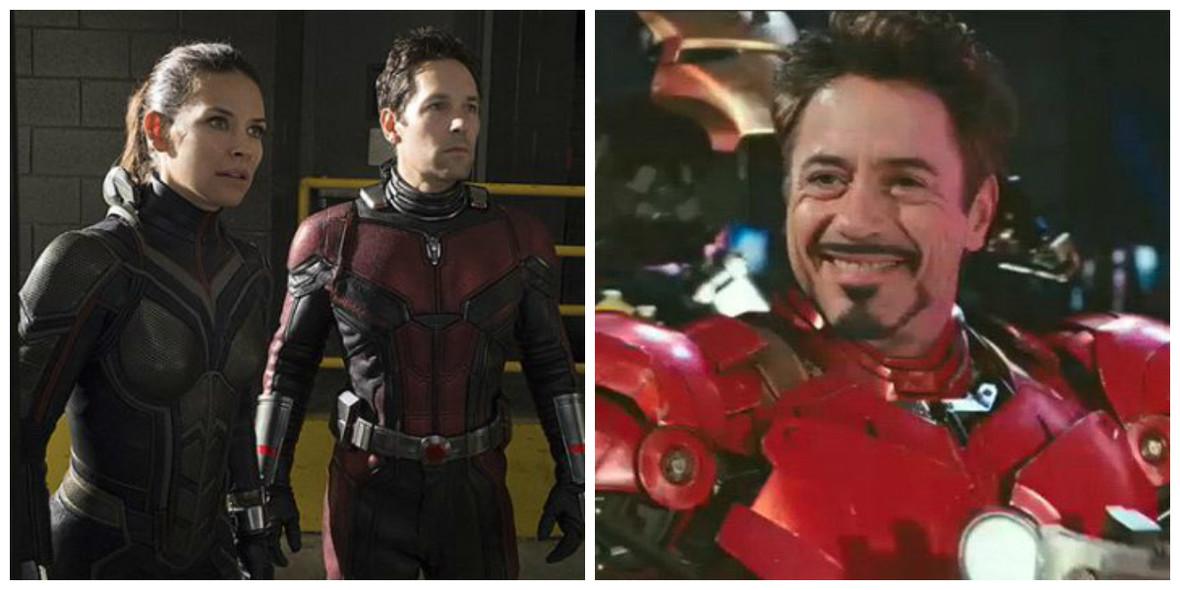 Iron Man, Ant-Man i Wasp