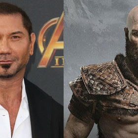 """Jak Dave Bautista wyglądałby w roli Kratosa w filmie """"God of War""""?"""