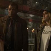 Samuel L. Jackson i Brie Larson (Kapitan Marvel)