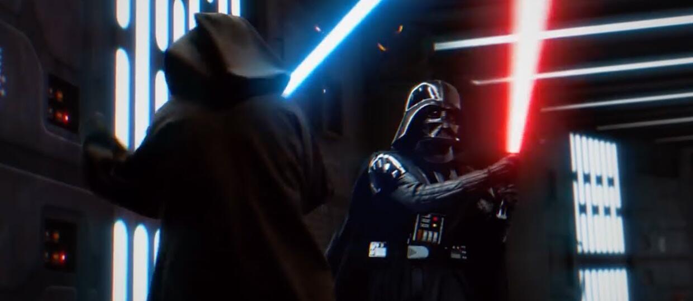 Darth Vader kontra Obi-Wan Kenobi
