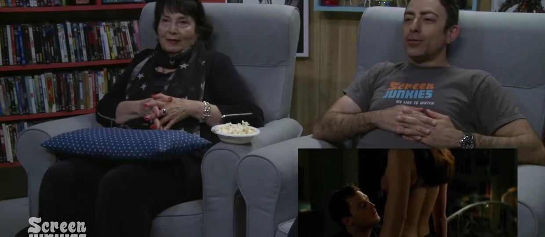 """Jak się ogląda """"Ciemniejszą stronę Greya"""" razem z mamą?"""
