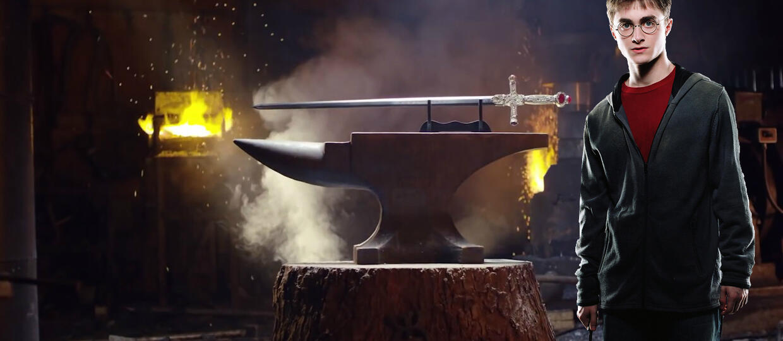 """Jak stworzyć miecz Gryffindora z """"Harry'ego Pottera""""?"""