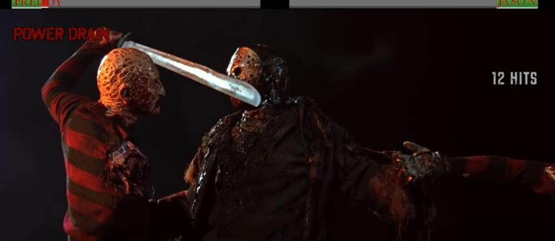 Jak wyglądają sceny walki potworów z filmów z paskami życia?