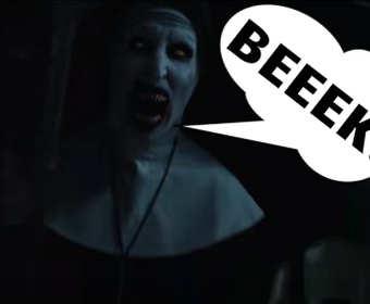Jak wyglądają sceny z horrorów z głupkowatym dubbingiem?