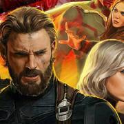 Kapitan Ameryka, Black Widow, Falcon i Scarlet Witch