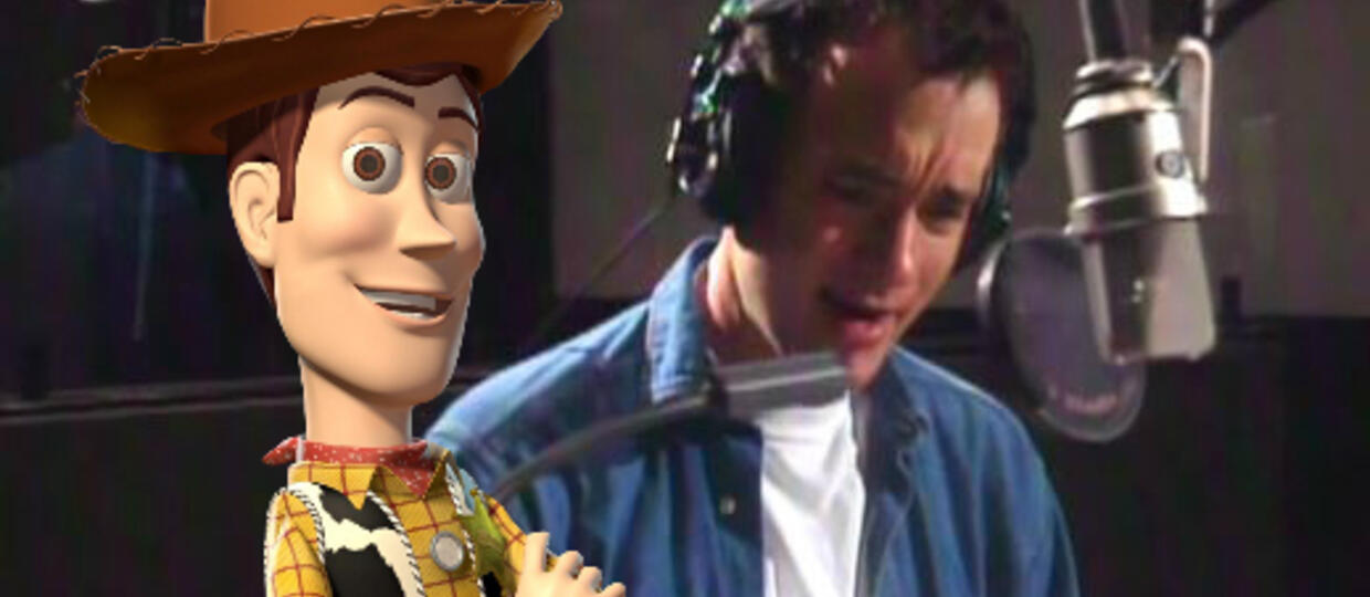 Tom Hanks w filmie Toy Story