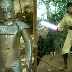 """Jak wyglądałyby """"Gwiezdne wojny"""", gdyby powstały w Bollywood?"""