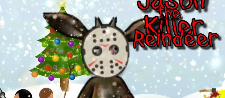 """Jason z """"Piątku 13-go"""" zabójczym reniferem"""