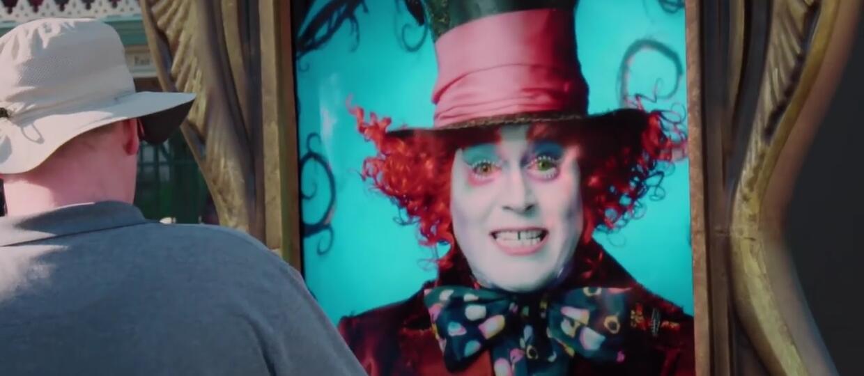 Johnny Depp odwiedził Disneyland jako Szalony Kapelusznik