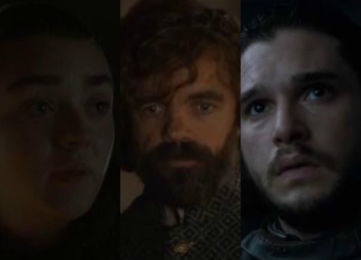 Jona Snowa, Aryę Star i Tyriona Lannistera miał łączyć... trójkąt miłosny?