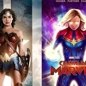 Kapitan Marvel i Wonder Woman