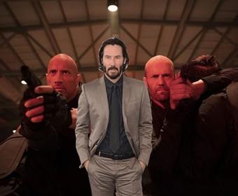 """Keanu Reeves wystąpi w spin-offie """"Szybkich i wściekłych""""? The Rock skomentował plotki"""