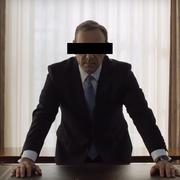 Kevin Spacey ocenzurowany w zwiastunie filmu na TVN. Na oczy nałożono mu czarny pasek