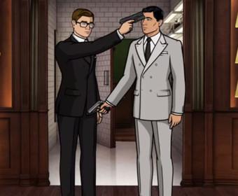 Kingsman kontra Archer. Co stanie się, gdy spotkają się najlepsi szpiedzy świata?