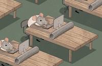 Korposzczury w pogoni za pieniądzem. Krótka animacja trafnie podsumowała nasze życie