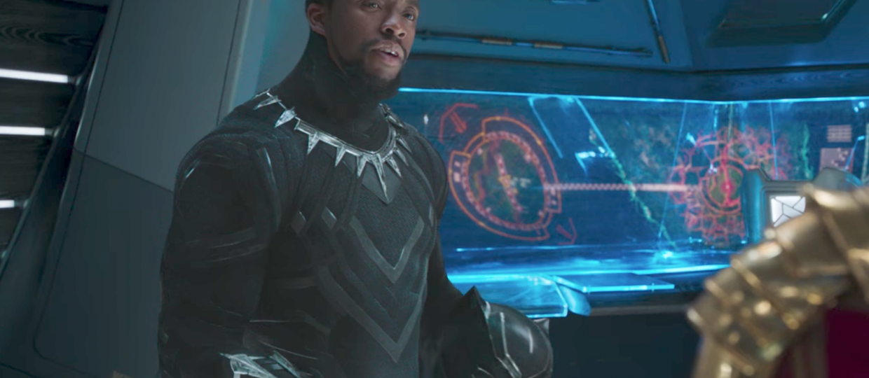 Chadwick Boseman jako Black Panther
