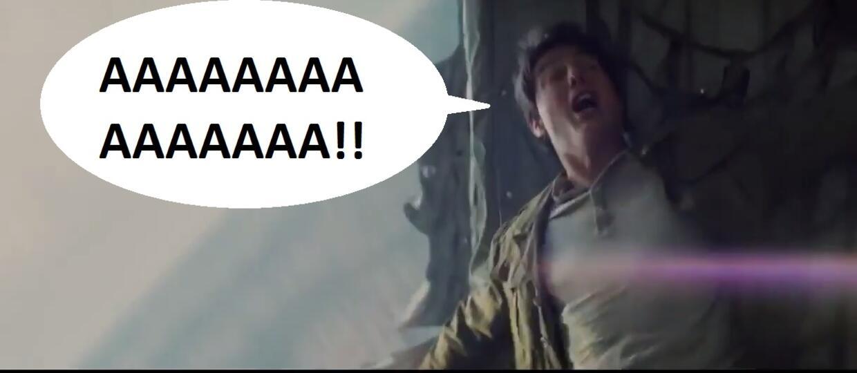 """Krzyk Toma Cruise'a w """"zwalonym"""" zwiastunie """"Mumii"""""""