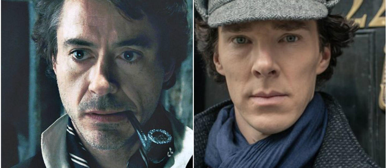 Sherlock Holmes Downey Jr i Cumberbatch