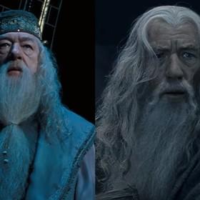 Dumbledore i Gandalf