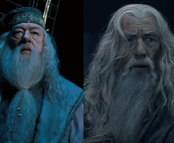 Dumbledore i Gandalf