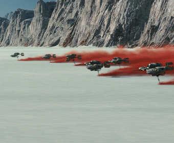 """Które miejsca Ziemi stały się obcymi planetami w filmie """"Gwiezdne Wojny: Ostatni Jedi""""?"""