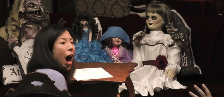 Lalka Anbelle w makabrycznym pranku