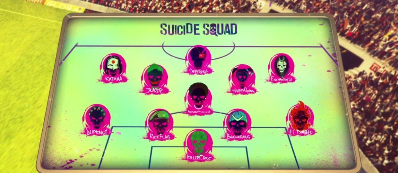 Legion samobójców jako skład na Euro 2016