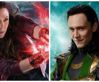 Loki kontra Scarlet Witch. Kto wygrałby pojedynek? Tom Hiddleston i Elizabeth Olsen odpowiedzieli