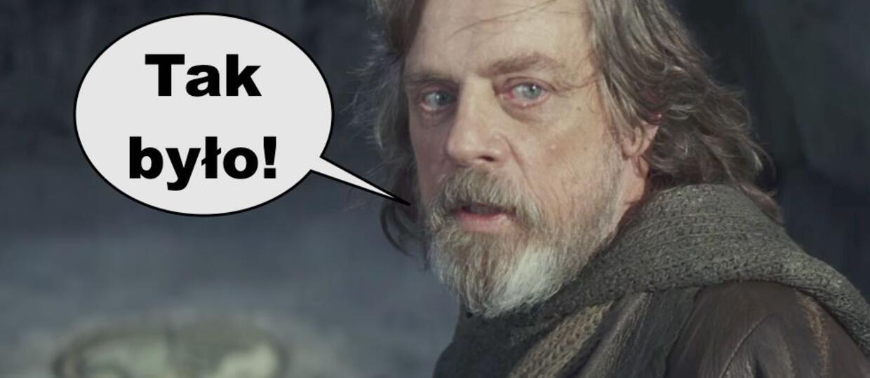 Mark Hammil jako Luke Skywalker