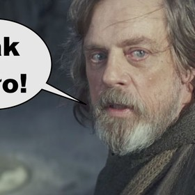 Mark Hammil jako Luke Skywalker