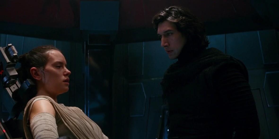 Rey (Daisy Ridley) i Kylo Ren (Adam Driver)
