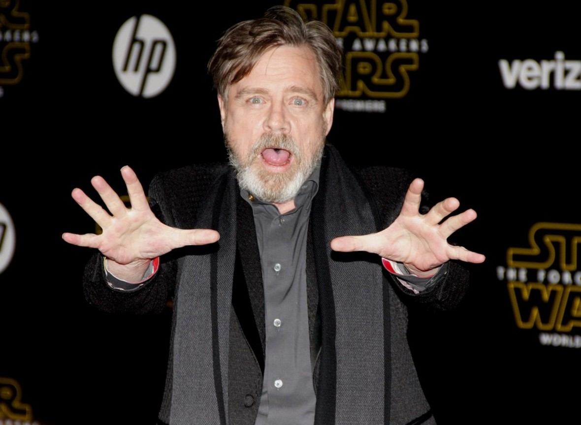 """Mark Hamill zamierza trollować fanów """"Star Wars"""" aż do premiery filmu """"Ostatni Jedi"""""""