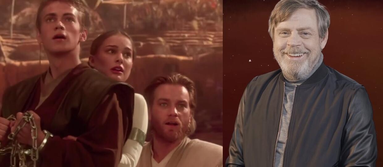 """Mark Hamill znalazł jedną jasną stronę prequelowej trylogii """"Star Wars"""""""