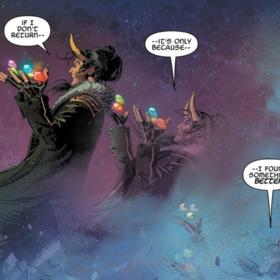 Marvel ujawnił skąd wzięły się Kamienie Nieskończoności