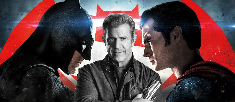 """Mel Gibson: """"Batman v Superman"""" to kupa gówna"""