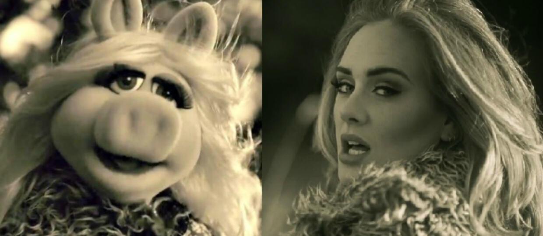 Miss Piggy zaśpiewała cover Adele