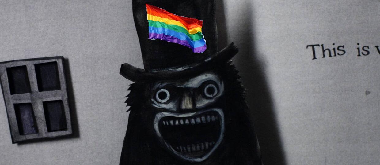 """Monstrum z horroru """"Babadook"""" stało się ikoną gejów"""