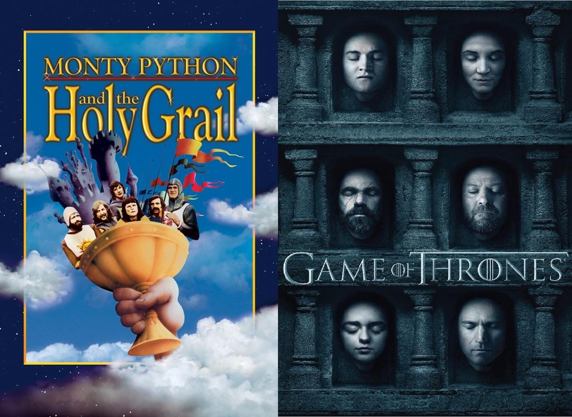 """Monty Python w świecie """"Gry o tron"""""""