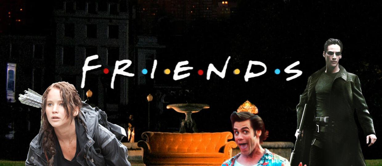 """Motyw z """"Przyjaciół"""" wykonany przez 49 filmów"""
