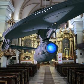 Star Trek w kościele