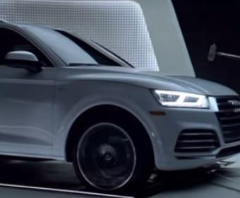 """Motyw ze """"Star Treka"""" zagrany samochodem marki Audi"""